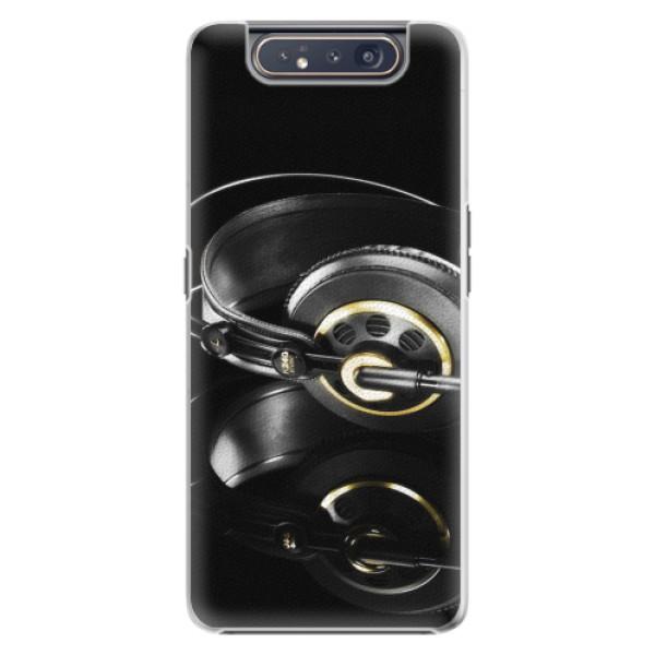 Plastové pouzdro iSaprio - Headphones 02 - Samsung Galaxy A80