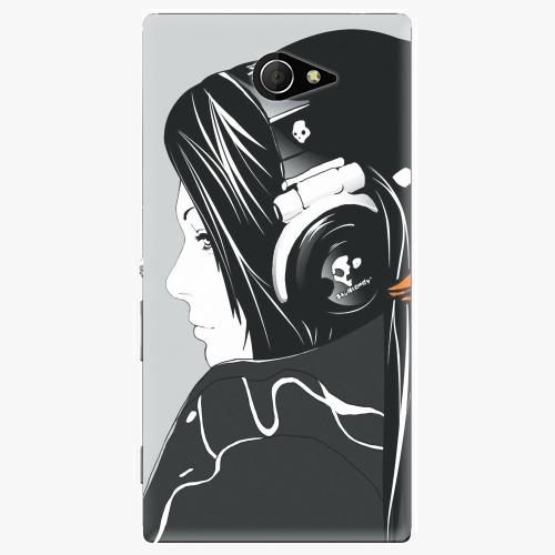 Plastový kryt iSaprio - Headphones - Sony Xperia M2
