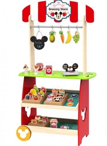 Dřevěný Disney obchod s příslušenstvím, 60 x 30 x 110 cm