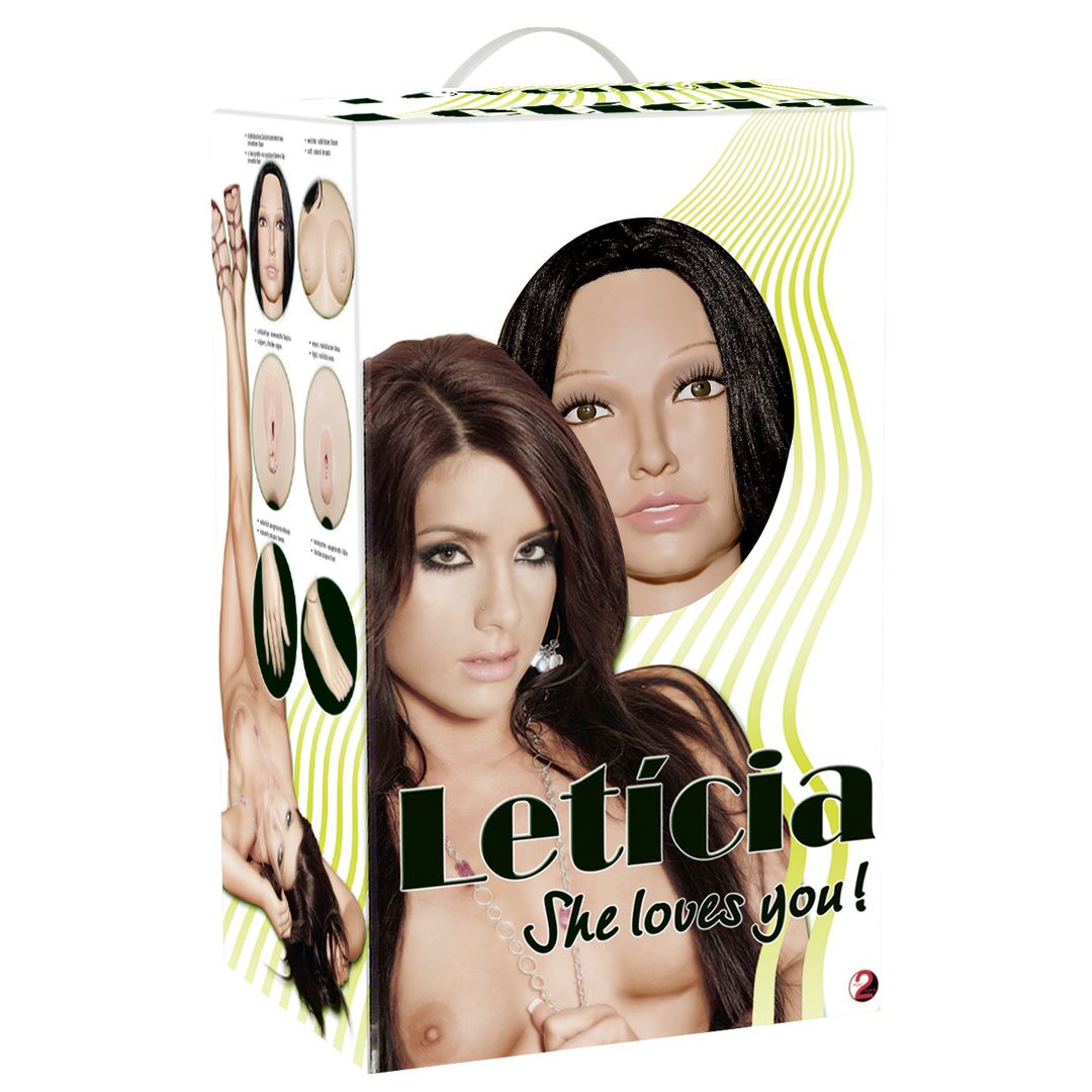 Leticia love doll - nafukovací panna