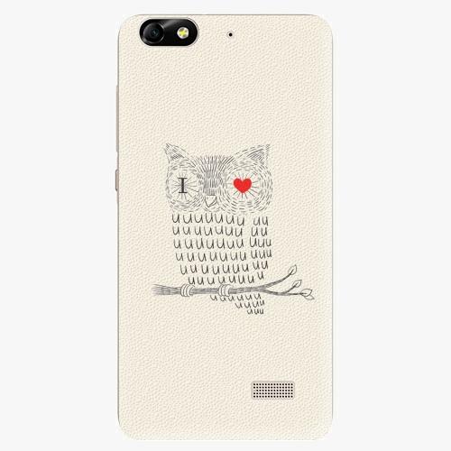 Plastový kryt iSaprio - I Love You 01 - Huawei Honor 4C