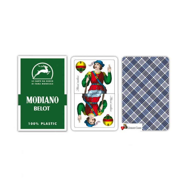 Modiano Belot dvouhlavé mariášky 100% plast