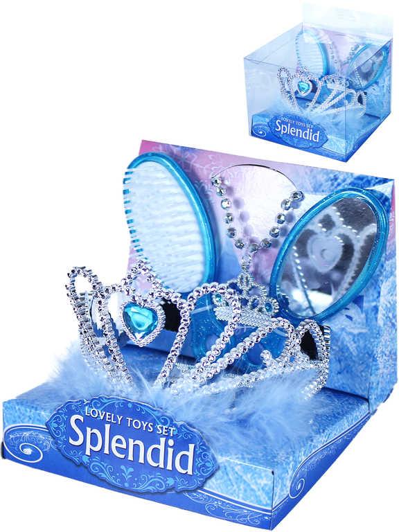 KARNEVAL Malá princezna set korunka s doplňky *KARNEVALOVÝ DOPLNĚK*