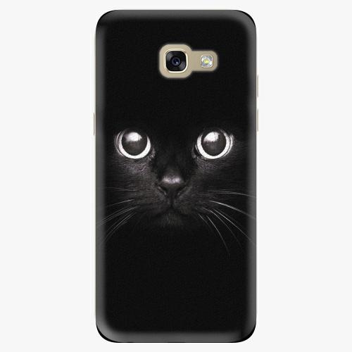 Plastový kryt iSaprio - Black Cat - Samsung Galaxy A5 2017