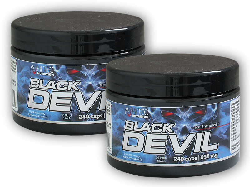 2x Black Devil 240 kapslí