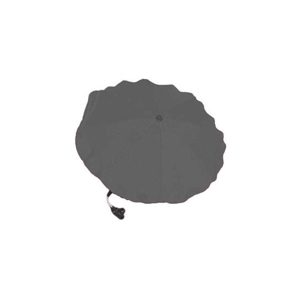 Slunečník na kočárek - šedý tmavý - šedá