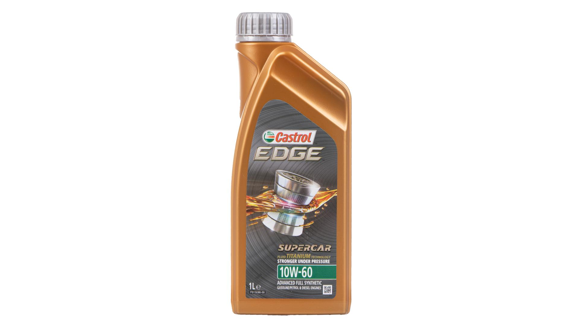 Castrol Edge 10W60 Titanium Supercar 1L