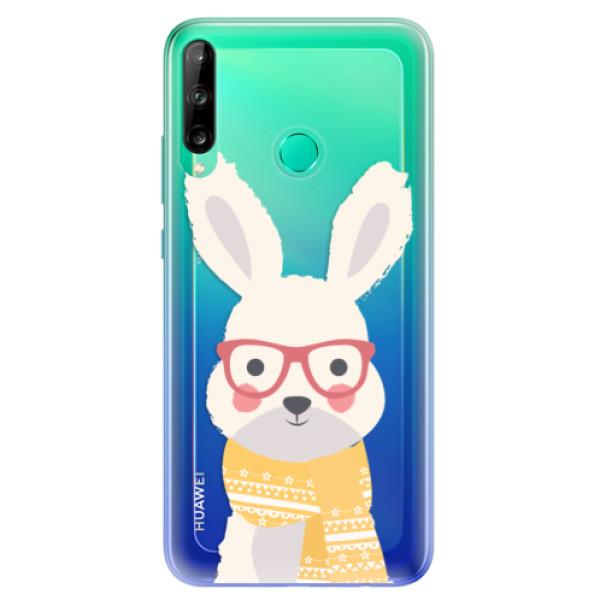 Odolné silikonové pouzdro iSaprio - Smart Rabbit - Huawei P40 Lite E