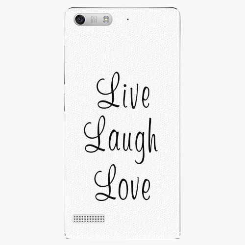Plastový kryt iSaprio - Live Laugh Love - Huawei Ascend G6