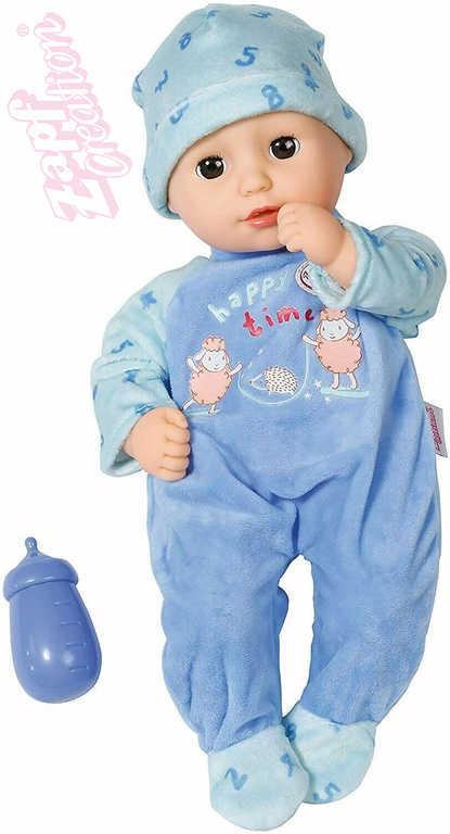 ZAPF Baby Annabell Alexander set panenka miminko 36cm + lahvička měkké tělíčko