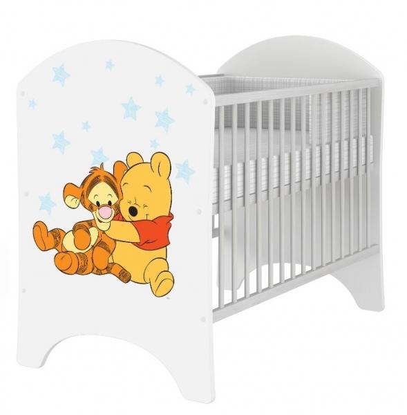 Dětská postýlka Disney Medvídek PÚ Baby 120x60cm, D19