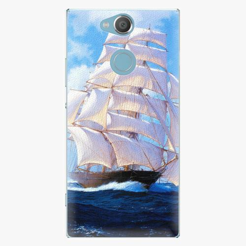 Plastový kryt iSaprio - Sailing Boat - Sony Xperia XA2