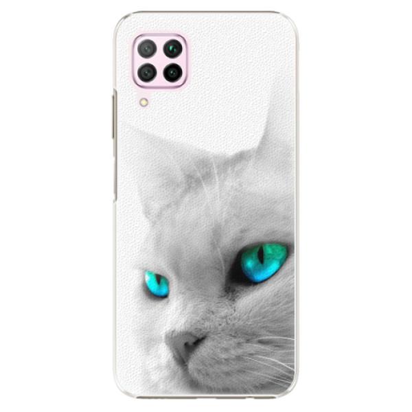 Plastové pouzdro iSaprio - Cats Eyes - Huawei P40 Lite