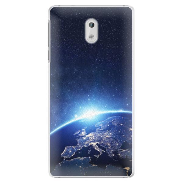 Plastové pouzdro iSaprio - Earth at Night - Nokia 3