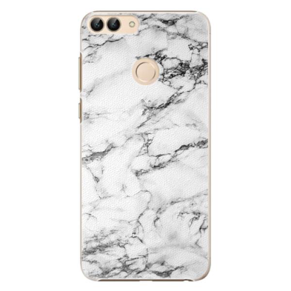 Plastové pouzdro iSaprio - White Marble 01 - Huawei P Smart