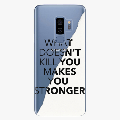 Plastový kryt iSaprio - Makes You Stronger - Samsung Galaxy S9 Plus