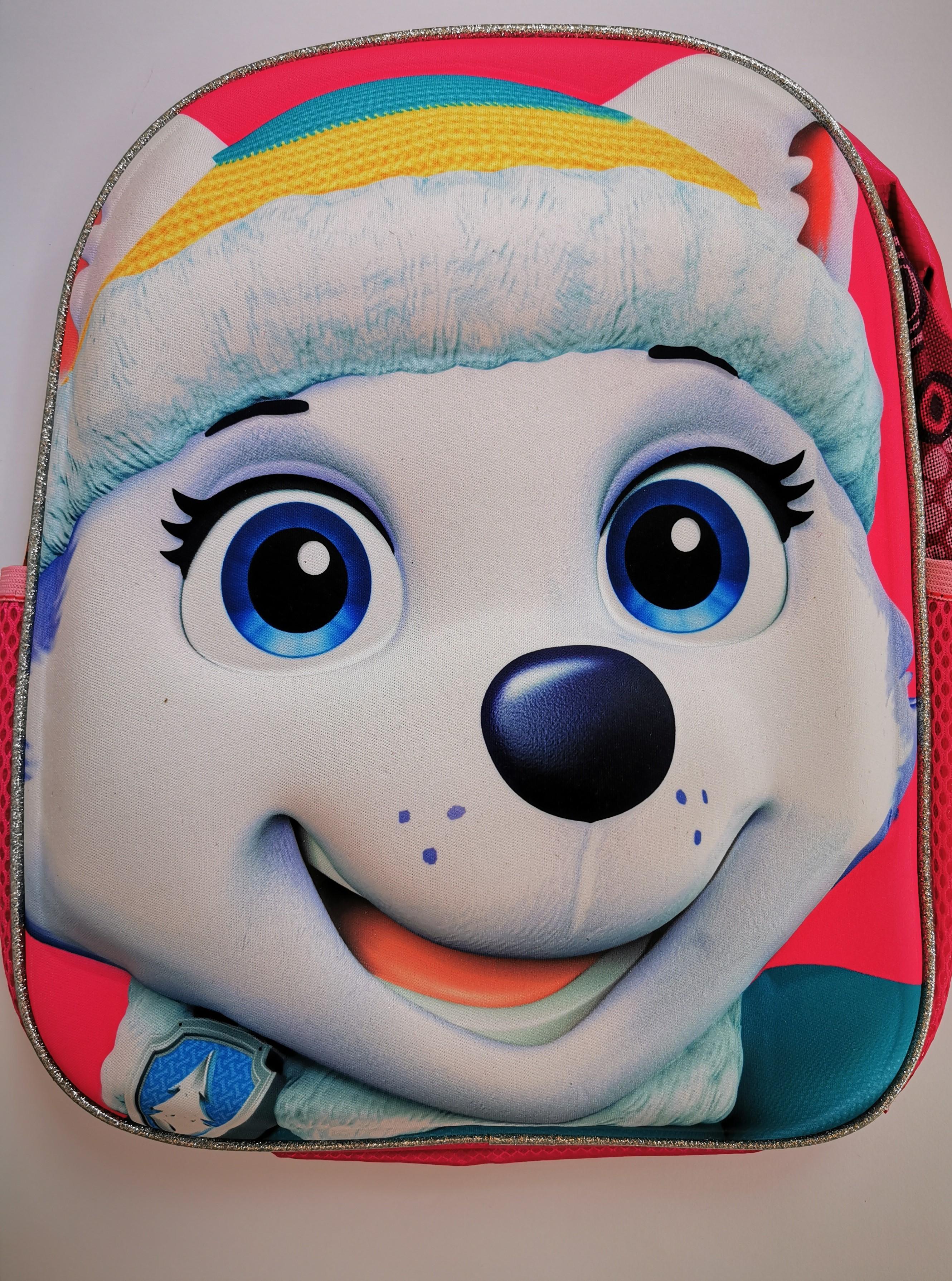 Dětský batůžek - Pejsek s čepicí