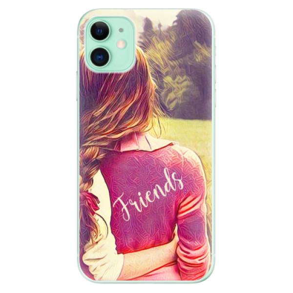 Odolné silikonové pouzdro iSaprio - BF Friends - iPhone 11