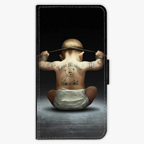 Flipové pouzdro iSaprio - Crazy Baby - Samsung Galaxy A5 2017