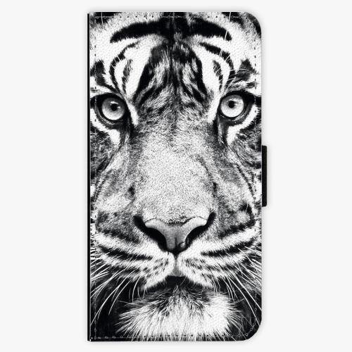 Flipové pouzdro iSaprio - Tiger Face - Lenovo Moto G5 Plus