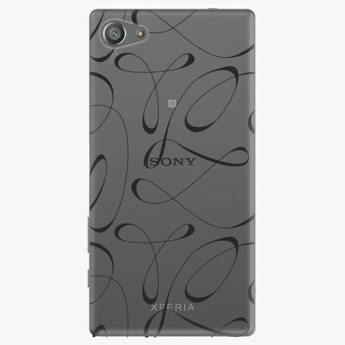 Plastový kryt iSaprio - Fancy - black - Sony Xperia Z5 Compact