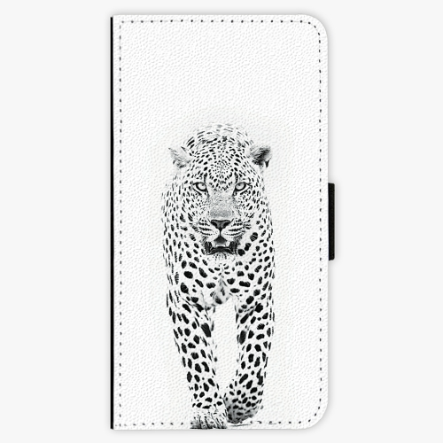 Flipové pouzdro iSaprio - White Jaguar - iPhone 7