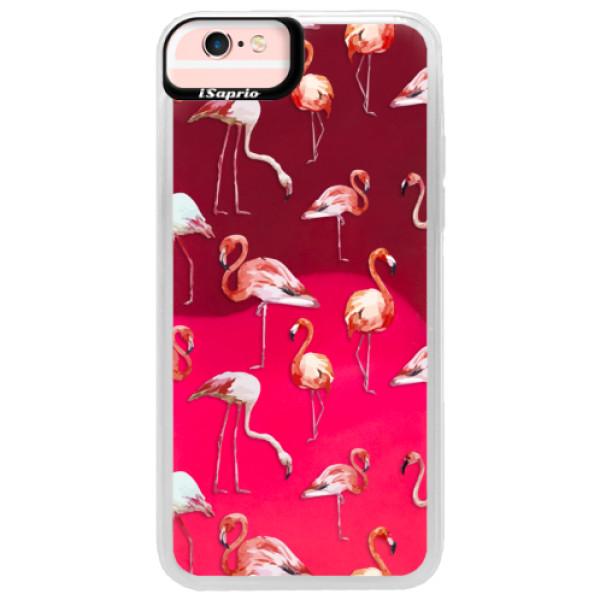 Neonové pouzdro Pink iSaprio - Flami Pattern 01 - iPhone 6/6S