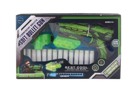 Pistole s fosforeskujícími náboji