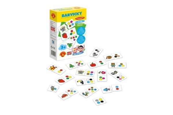 Hra školou® Barvičky kreativní hra v krabici 16x25x5cm
