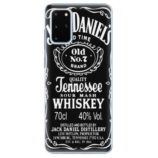 Plastové pouzdro iSaprio - Jack Daniels - Samsung Galaxy S20+