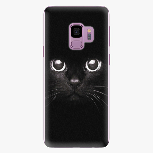 Plastový kryt iSaprio - Black Cat - Samsung Galaxy S9