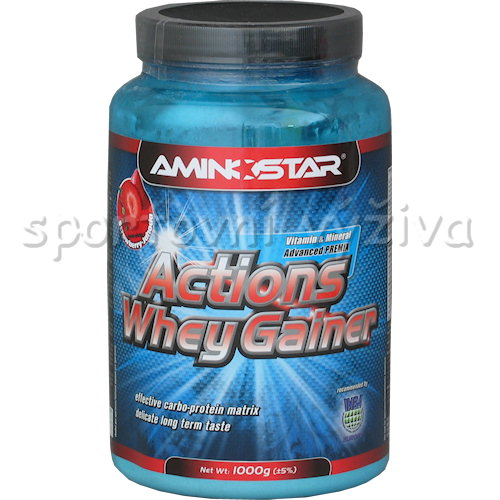 Actions Whey Gainer - 1000g-jahoda