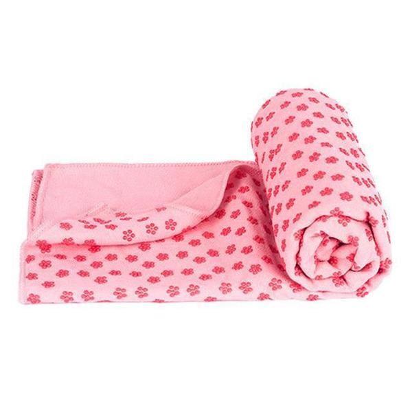 Protiskluzový ručník - růžový