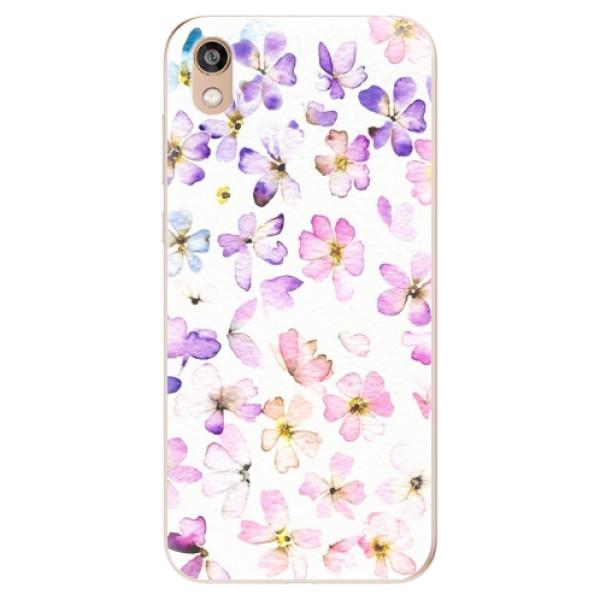 Odolné silikonové pouzdro iSaprio - Wildflowers - Huawei Honor 8S