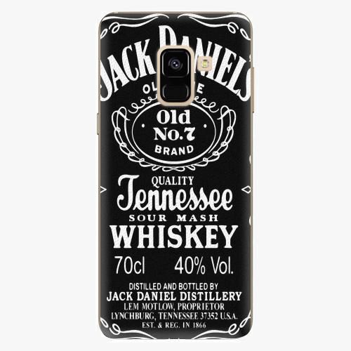 Plastový kryt iSaprio - Jack Daniels - Samsung Galaxy A8 2018