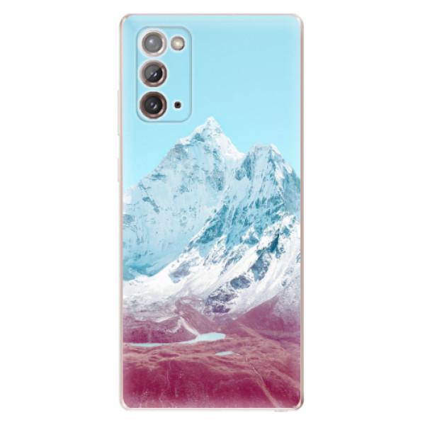 Odolné silikonové pouzdro iSaprio - Highest Mountains 01 - Samsung Galaxy Note 20