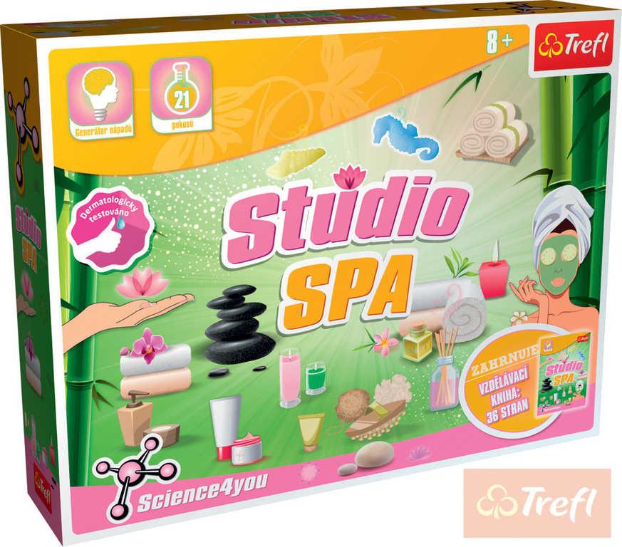 TREFL Studio Spa domáci wellness maxi kreativní set výroba koupelových doplňků