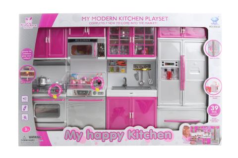 Kuchyňský set pro panenky na baterie