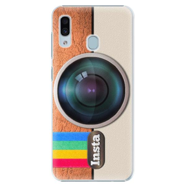 Plastové pouzdro iSaprio - Insta - Samsung Galaxy A20