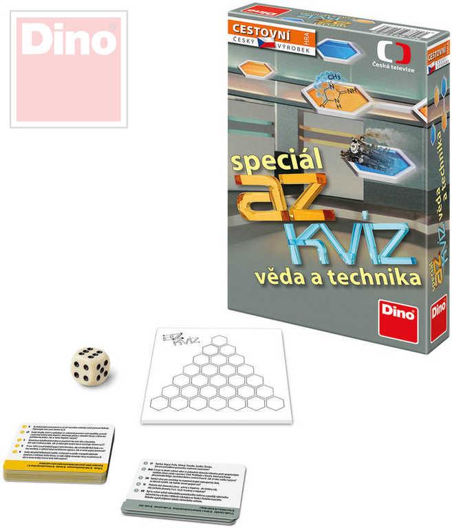 DINO Hra cestovní AZ Kvíz Speciál Věda a technika *SPOLEČENSKÉ HRY*