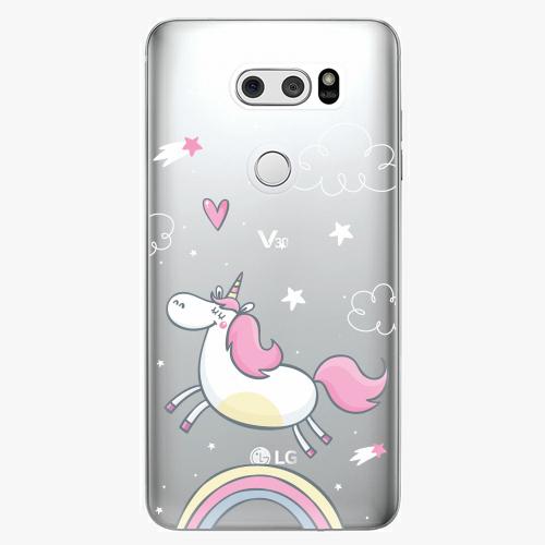 Plastový kryt iSaprio - Unicorn 01 - LG V30