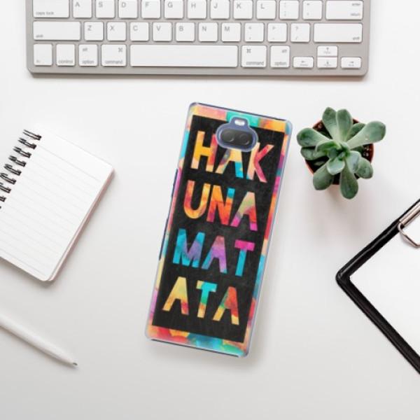 Plastové pouzdro iSaprio - Hakuna Matata 01 - Sony Xperia 10