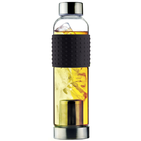 Skleněná láhev IT2GO 400ml černá