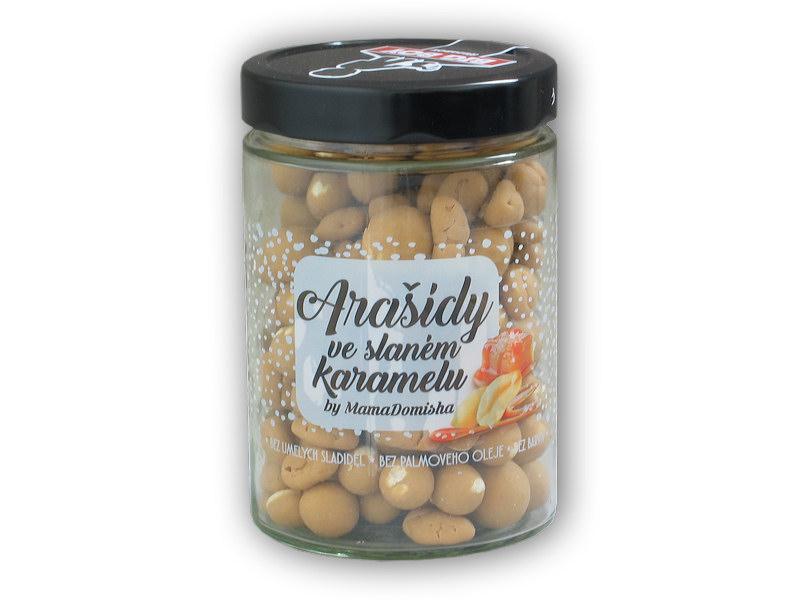 Arašídy ve slaném karamelu Mamadomisha 300g