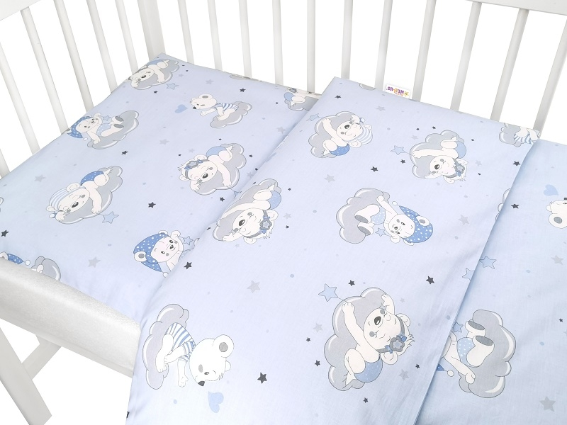 baby-nellys-2-dilne-bavlnene-povleceni-mracek-modra-120x90