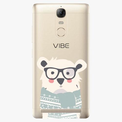 Plastový kryt iSaprio - Bear with Scarf - Lenovo K5 Note