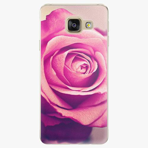 Plastový kryt iSaprio - Pink Rose - Samsung Galaxy A3 2016