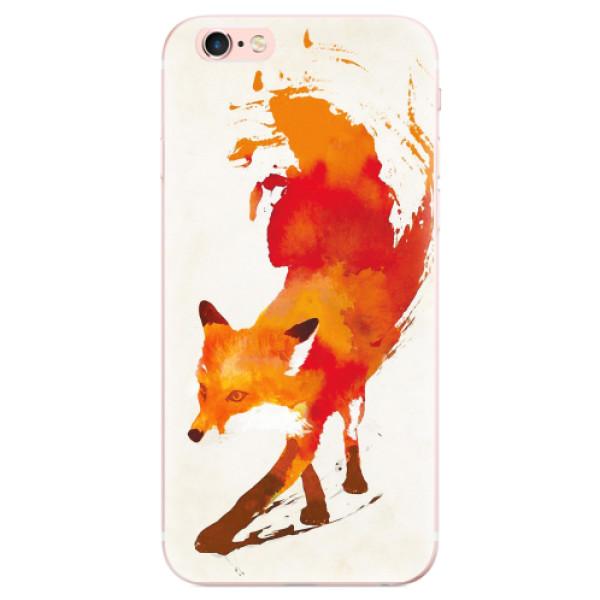 Odolné silikonové pouzdro iSaprio - Fast Fox - iPhone 6 Plus/6S Plus