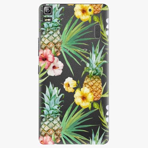 Plastový kryt iSaprio - Pineapple Pattern 02 - Lenovo A7000