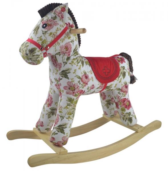 Houpací koník PINKY FLORA